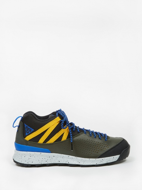 Okwahn II - Sequoia/Racer Blue-Yellow Ochre