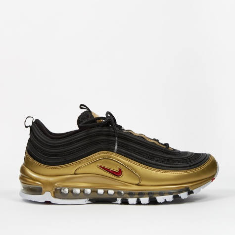 Air Max 97 QS - Black/Varsity Red-Metallic Gold-White