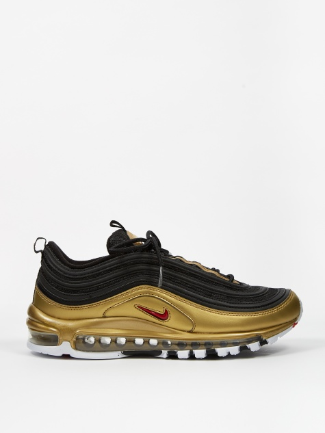 9c977314 Air Max 97 QS - Black/Varsity Red-Metallic Gold-White. NikeAir ...