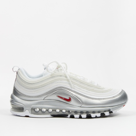 Air Max 97 QS - White/Varsity Red-Metallic Silver-Black