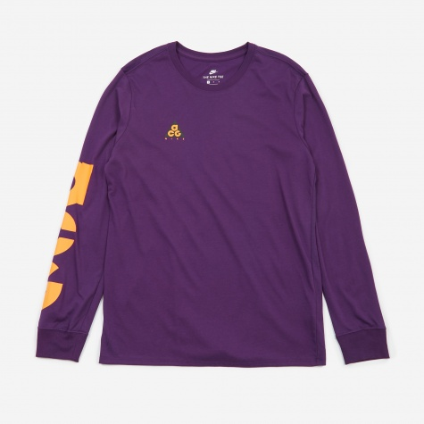 ACG Longsleeve Tee - Night Purple/Bright Mandarin
