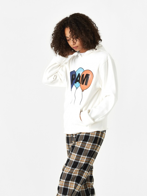 Perks And Mini Helium Hooded Sweatshirt - Milk