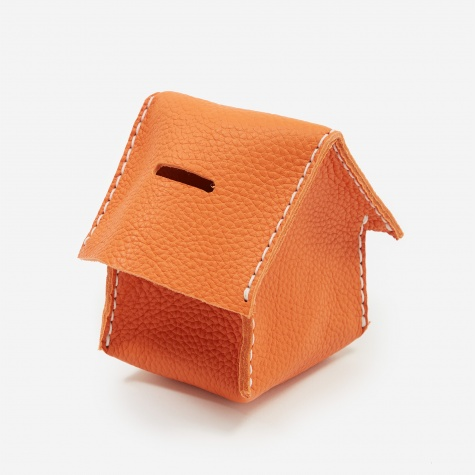 Home Coin Bank - Orange
