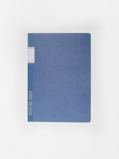 Vintage Notebook - Blue