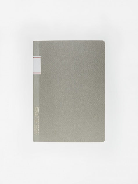 Vintage Notebook - Grey