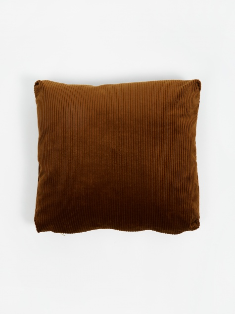 Corduroy Cushion 45x45cm - Golden Olive