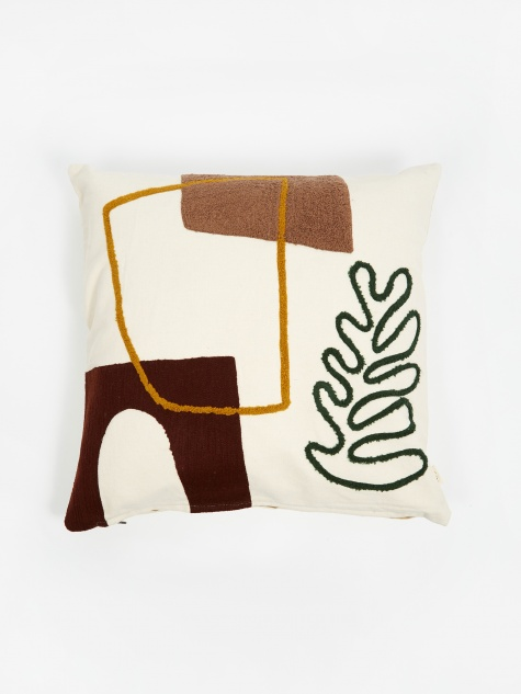 Mirage Cushion 50x50cm - Leaf