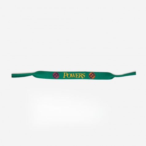 XL Croakies Sunglass Strap - Hunter Green