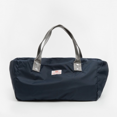 Nylon Muffin Mini Bag - Navy