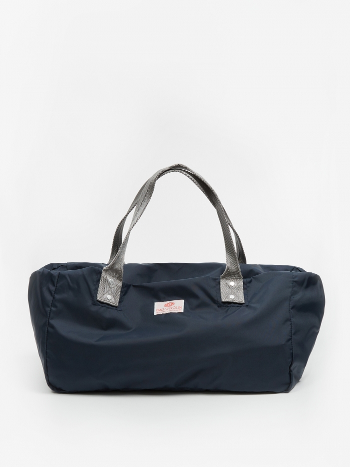 Bag 'n' Noun Nylon Muffin Mini Bag - Navy (Image 1)