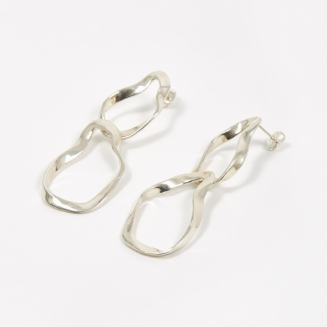 Small Viviane Earrings - Sterling Silver