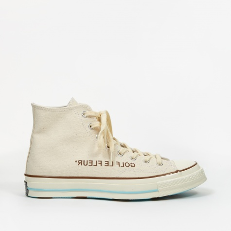 x Golf Le Fleur Chuck Taylor All Star 70 Hi - Parchment