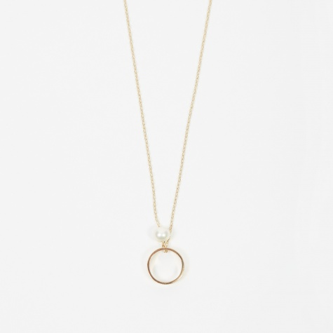 Fresh Water Pearl Necklace - 10K Gold