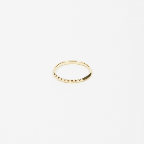 Studs Ring - 18K Gold