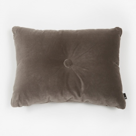 Surface Dot Cushion 45x60cm - Soft Warm Grey