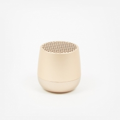 Lexon MINO Bluetooth Speaker - Light Gold