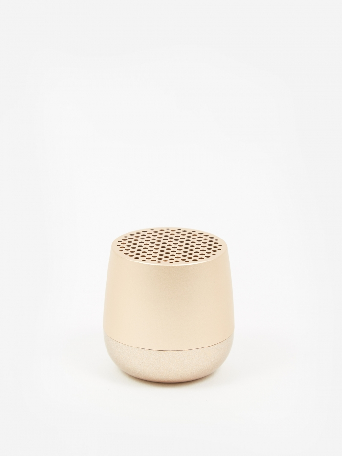 Lexon MINO Bluetooth Speaker - Light Gold (Image 1)