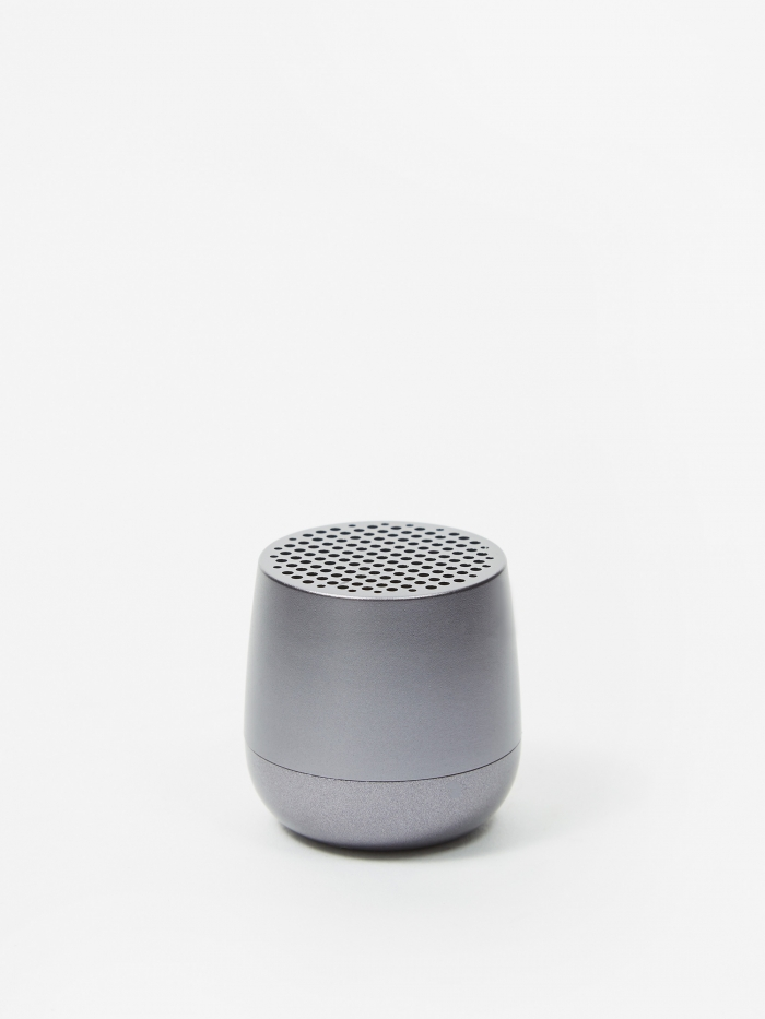 Lexon MINO Bluetooth Speaker - Gun Metal (Image 1)