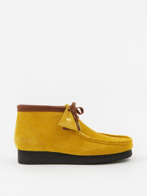 Clarks x Wu Wear Wallabee - Yellow Suede