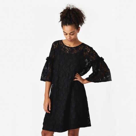 Lace Dress - Black