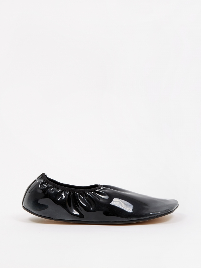 MM6 Maison Margiela Flat Glove Shoe - Anthracite (Image 1)