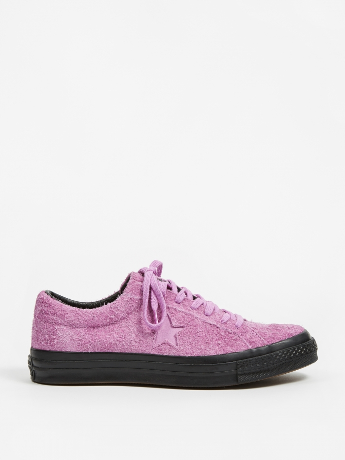 Converse One Star Ox - Fuchsia Glow/Black (Image 1)