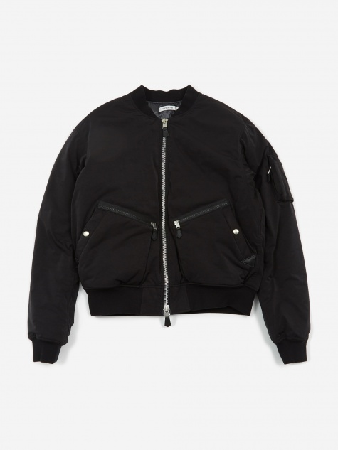 Airman Bomber Jacket - Black