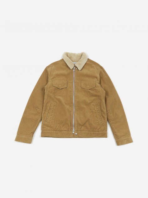 Worker Boa Jacket - Beige