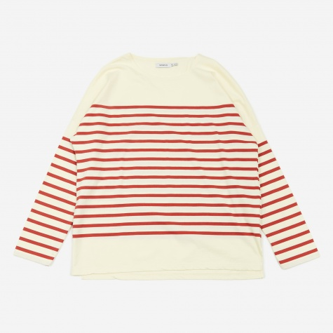 Clerk Longsleeve T-shirt - Red