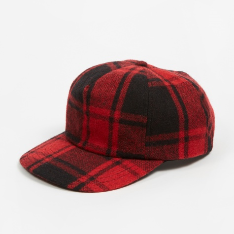Dweller 6 Panel Cap - Red