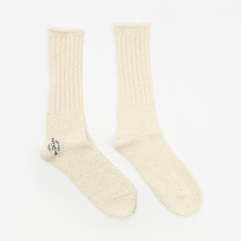 Dweller Socks - White