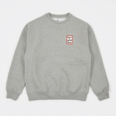 Have A Good Time Mini Frame Sweatshirt - Heather Grey