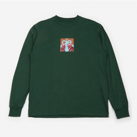 Longsleeve T-Shirt - Kelly/Peacock