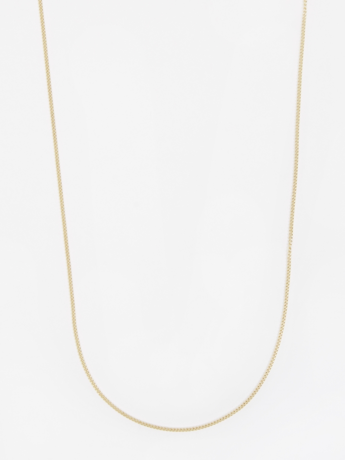 Goods By Goodhood Curb Chain / Gold / 1.2mm Gauge / 70cm (Image 1)