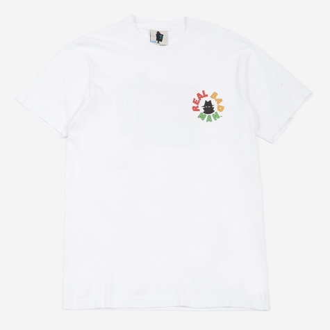 Real Bad Logo T-Shirt - White