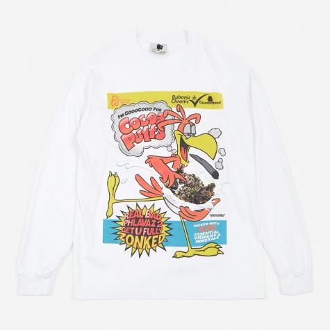 CoooCooo Puffs Longsleeves T-Shirt - White
