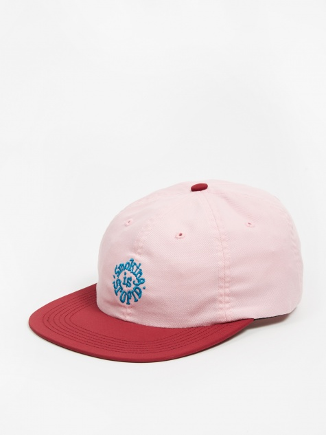 Smoking Is Stupid Cap - Washed Pink