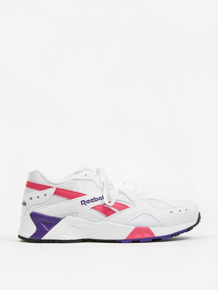 Reebok Aztrek - White/Rose/Cobalt/Purple (Image 1)