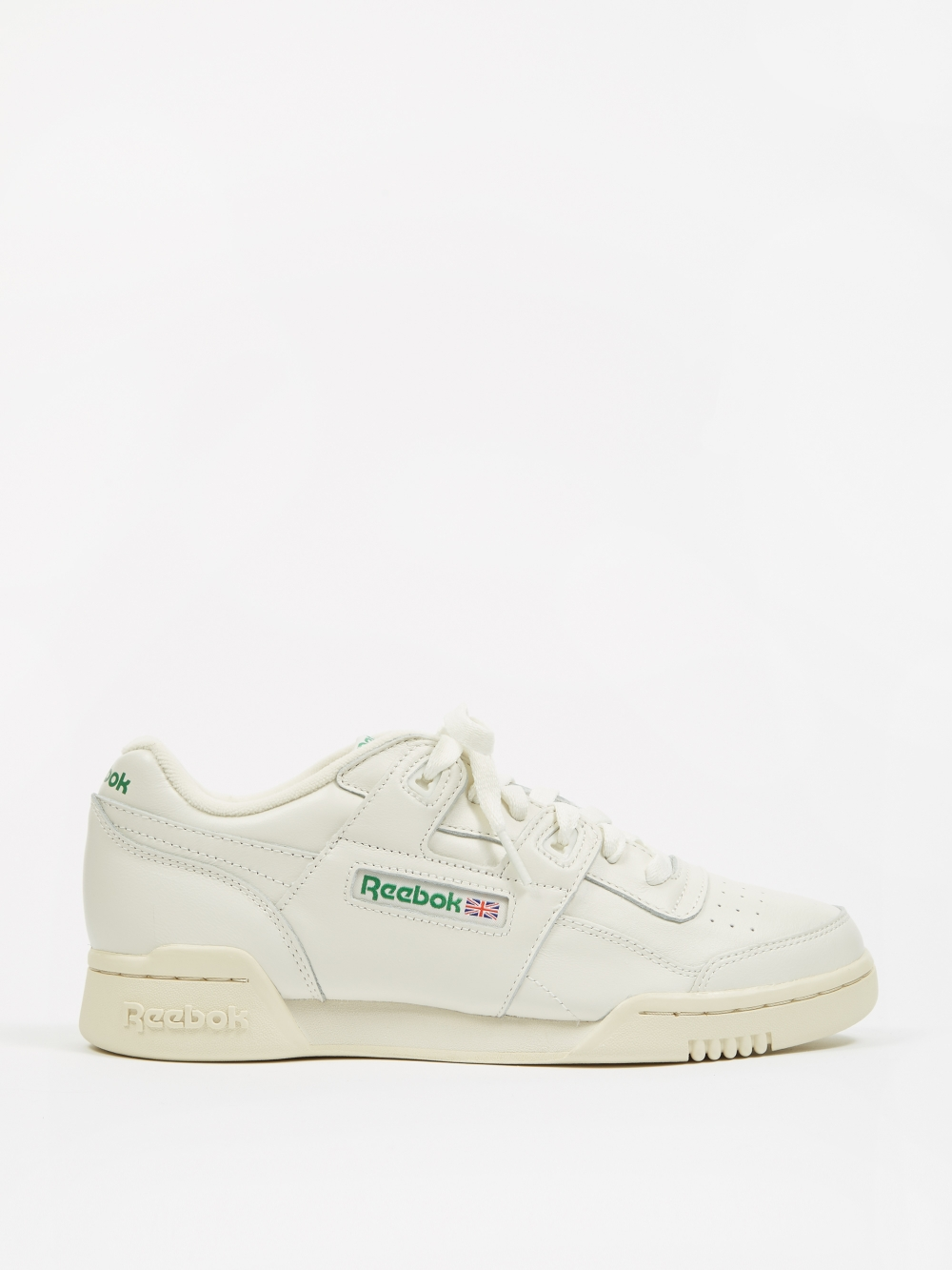 8886024b388 Reebok Workout Lo Plus - Vintage Chalk/Paper White/Glen Green (Image 1