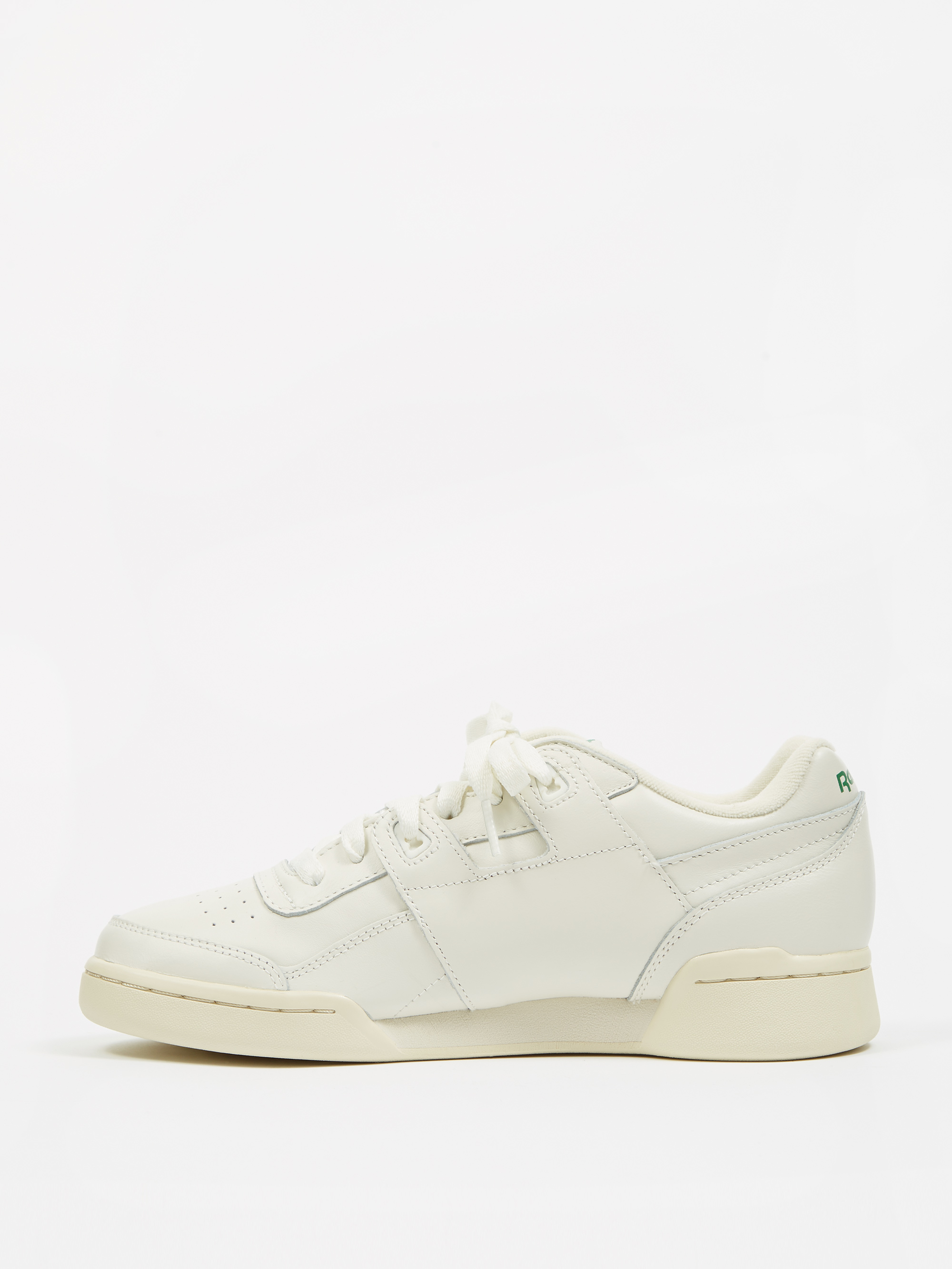 79a79aeeaf1 Reebok Workout Lo Plus - Vintage Chalk/Paper White/Glen Green