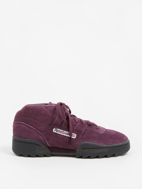 Workout Clean Mid Ripple - Urban Violet/Black