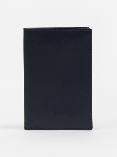 Comme des Garcons Wallet Card Holder (SA6400) - Navy