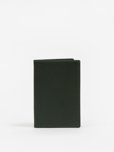Comme des Garcons Wallet Card Holder (SA6400) - Bottle Green