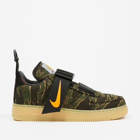 x Carhartt WIP Air Force 1 UT Low Premium - Camo Green/Oran