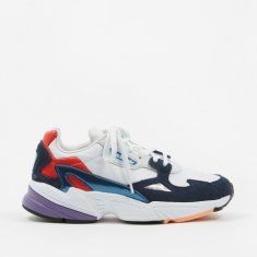 Adidas Falcon - Crystal White/Crystal White/Collegiate Navy