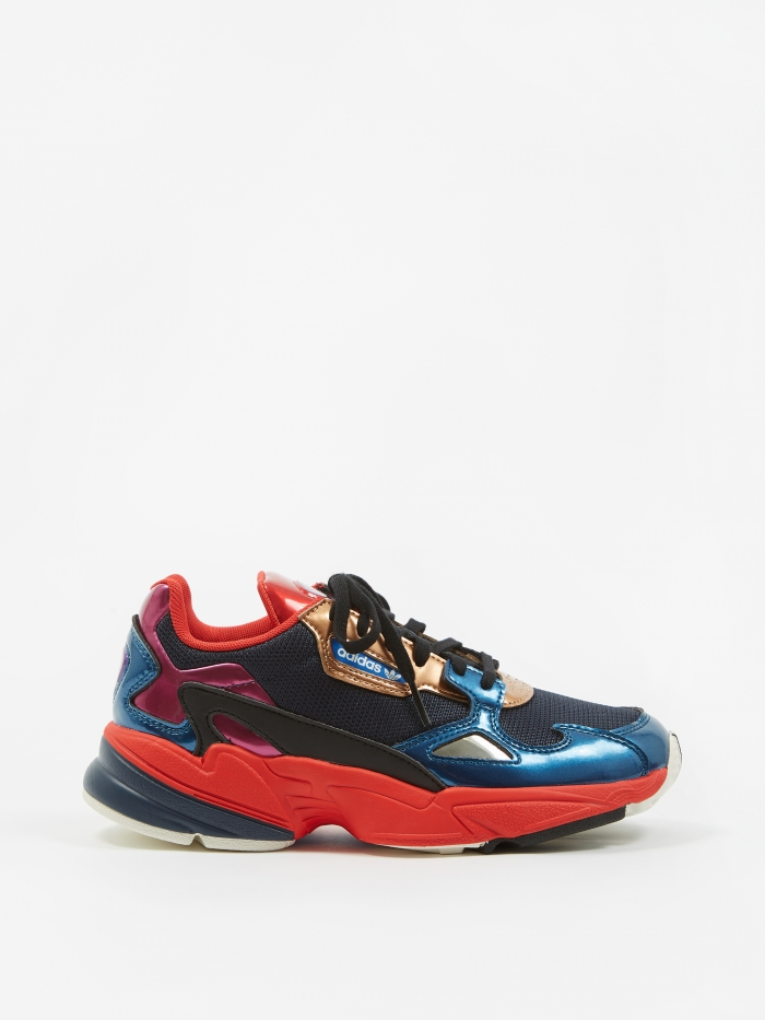 Adidas Falcon - Navy/Navy/Red (Image 1)