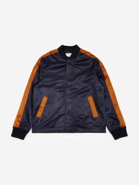 Turf Bomber Jacket - Navy/Rust