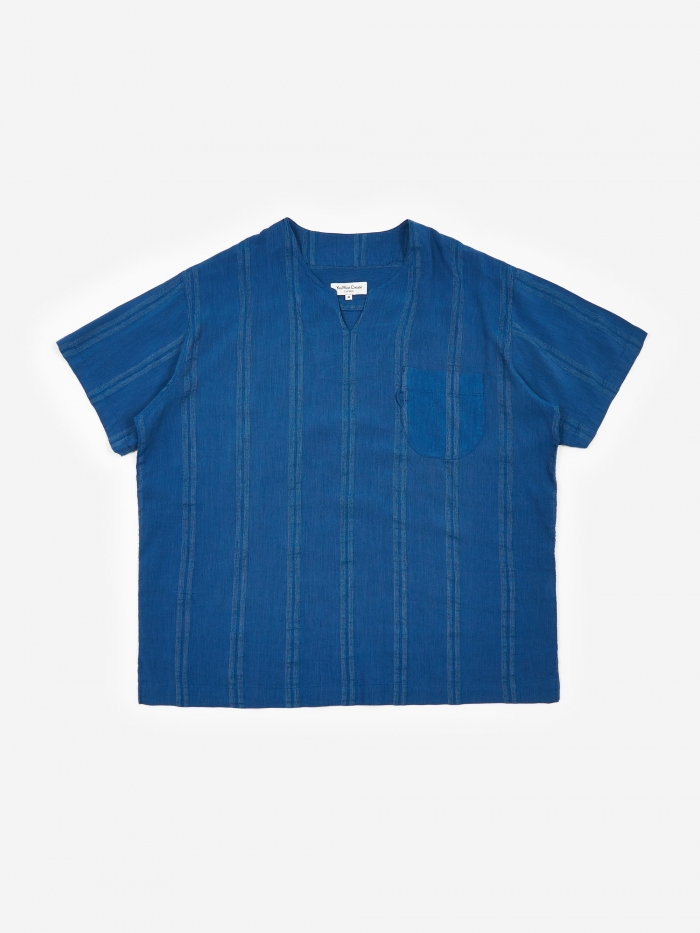 YMC Chicano Shirt - Blue (Image 1)