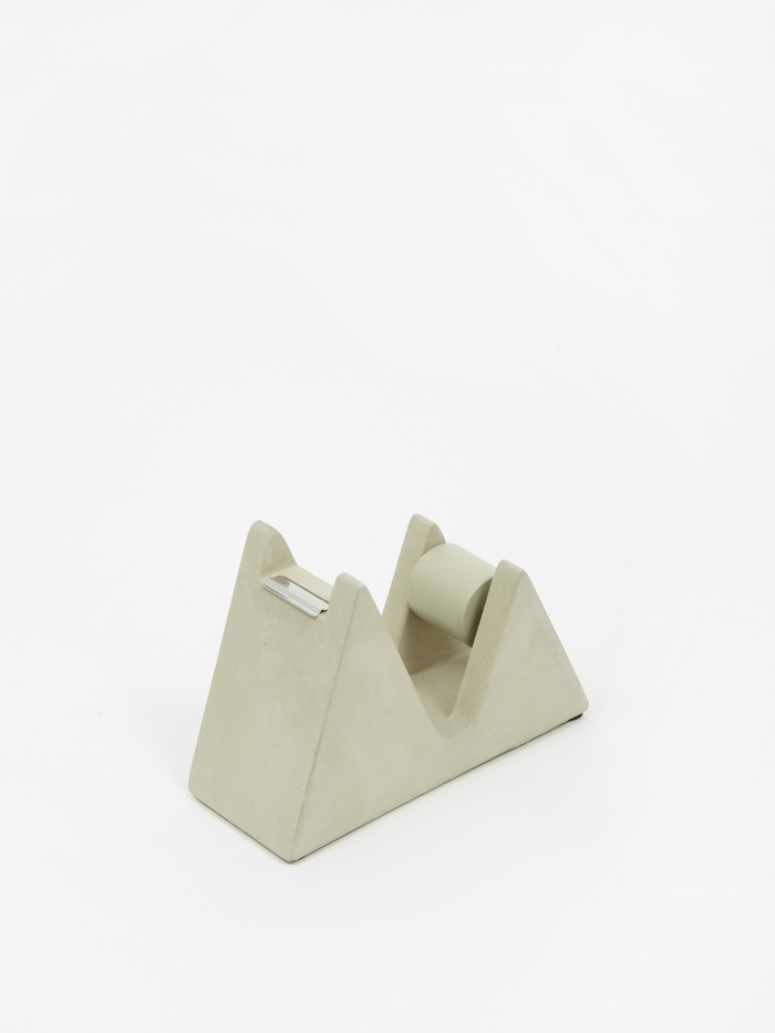 Suck UK Concrete Tape Dispenser - Grey (Image 1)