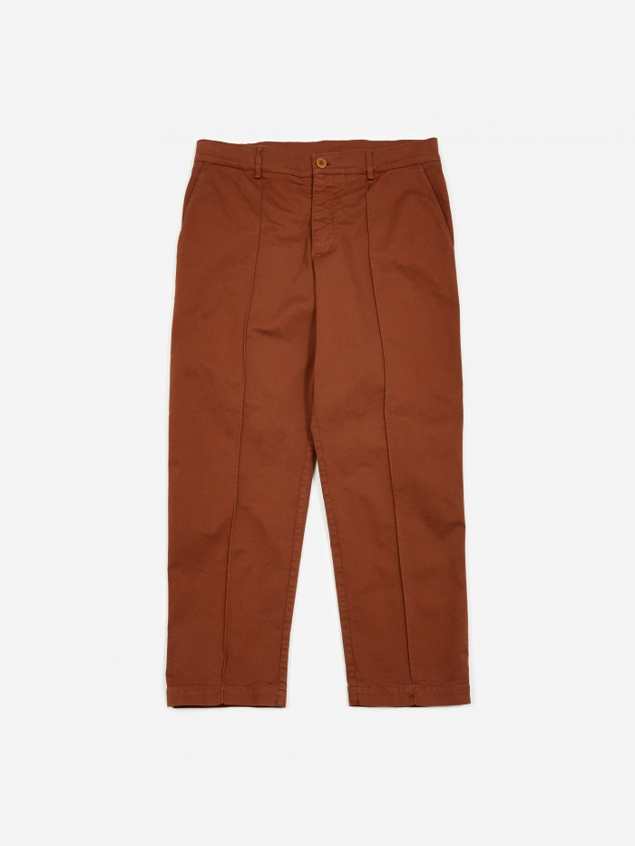 YMC Hand Me Down Trouser - Brown (Image 1)